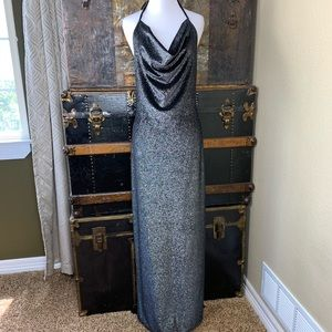 Onyx Nite sz 10 Sparkly Evening Dress